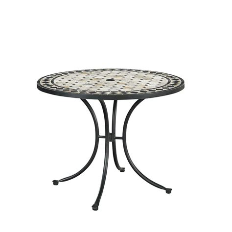 Home Styles Marble Top Round Outdoor Dining Table 5605 30 Top Outdoor Dining Table