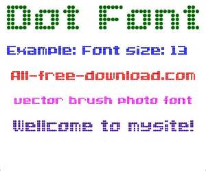 pattern dot font dot pattern free truetype font for free download about 1