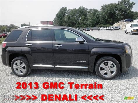 2011 gmc terrain denali for sale 2013 gmc terrain denali in carbon black metallic 115343