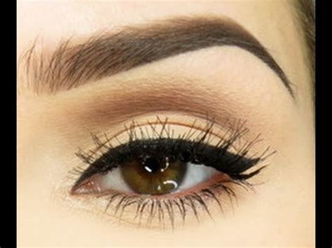 eyebrow tutorial for thick brows youtube