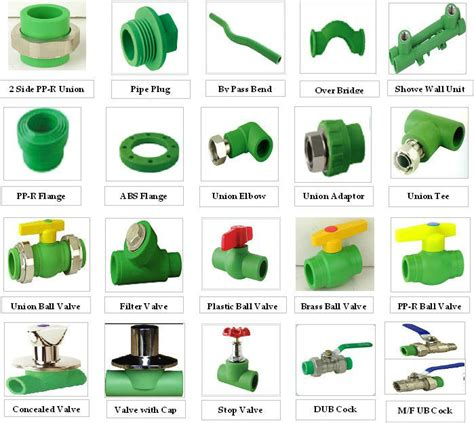 Plumbing Materials Names by All Types Of Ppr Pipe Fittings Catalogue Buy Ppr Pipe