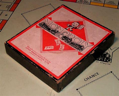 Monopoli 5 In 1 Gb great britain monopoly pre patent label