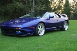 Lotus Esprit Turbo V8 Buy Used 1998 Lotus Esprit V8 Turbo Azure Blue