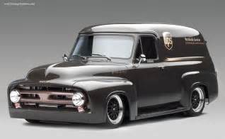 Ford Ups Cool 1953 Ford Fr100 Panel Truck Ups