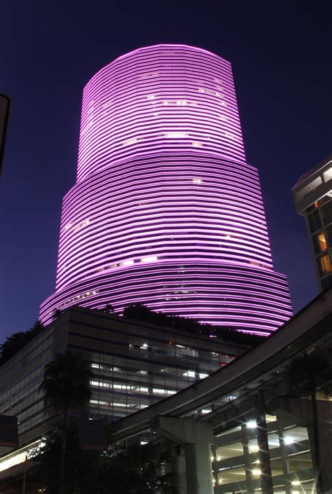 Showing Support With Led Light For Breast Cancer Awareness Led Lights Miami