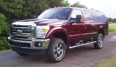 2013 ford excursion the ford excursion lives on tree huggers be warned