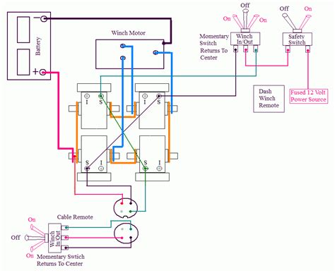 warn winch wiring diagram free wiring