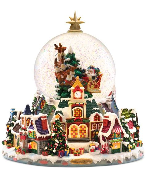 this christopher radko snow globe brings a beautiful