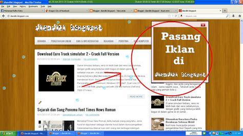 cara membuat iklan online di blog cara membuat banner iklan melayang di atas blog