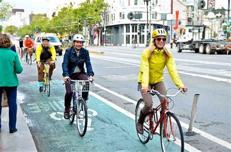Bike To Work 8 bikes account for 76 of market st trips on bike to work