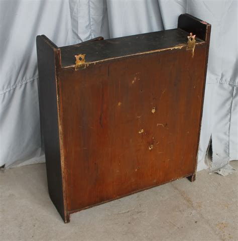 Bargain John's Antiques   Antique Oak Medicine Cabinet