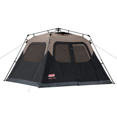 coleman 6 person instant tent 2000010194 the home depot