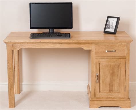 ebay small computer desk aspen solid oak wood small computer desk office studio