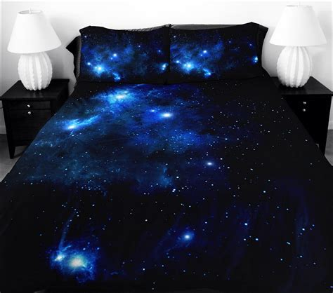 galaxy bedroom set sky design space galaxy nebula colorful universe interiors planets science