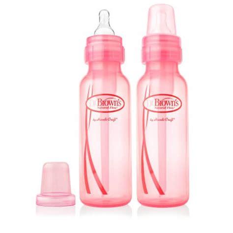 Sale Dr Pink 2 Dokter Pink dr brown s 8 oz 250ml pp standard baby bottle blue pink 2 pack bb warehouse