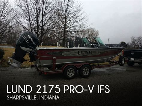 lund boats for sale indiana for sale used 2016 lund 2175 pro v ifs in sharpsville