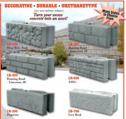 concrete block forms for sale