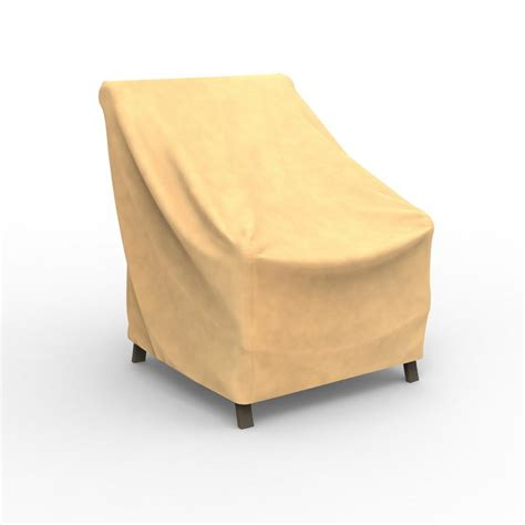 Patio Chair Cover 018397241036 Upc Budge Sand High Back Chair Cover P1 A03 Upc Lookup