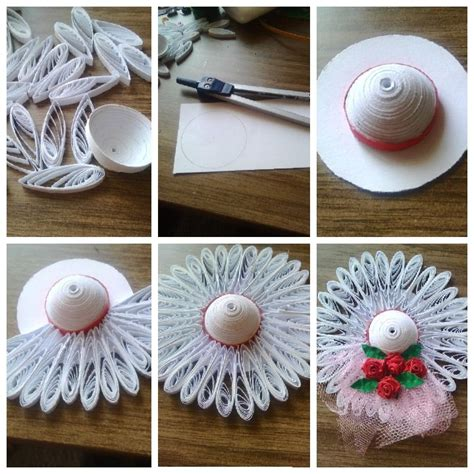 quilling hat tutorial 32 best quilled hats images on pinterest quilling