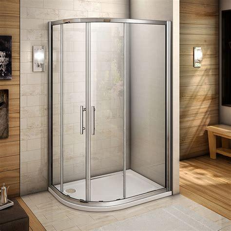 Quality Shower Doors Offset 1200x800 Quadrant Shower Enclosure Walk In Glass