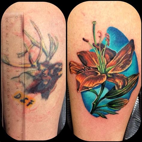 thigh tattoo cover ups 45 unique cover up tattoos