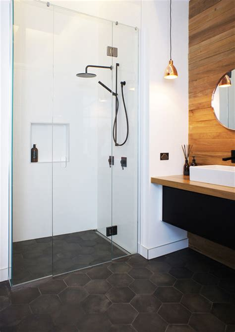 the block nz tiles scandinavian bathroom auckland
