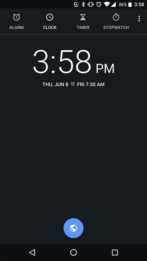 themes android clock google s clock app gets a darker theme and new icon