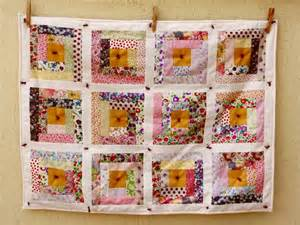 Toddler Bed Quilt Tutorial Liberty Log Cabin
