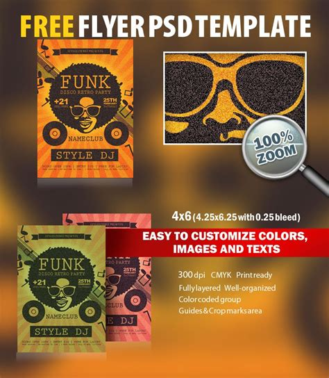 Funk Psd Flyer Template Free Download 6119 Styleflyers Free Caign Flyer Template