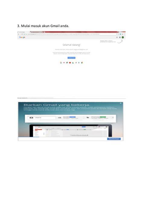 cara membuat akaun email gmail cara membuat akun gmail