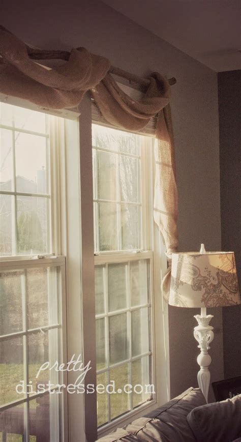 making curtains out of burlap decorations burlap window treatments for cute interior