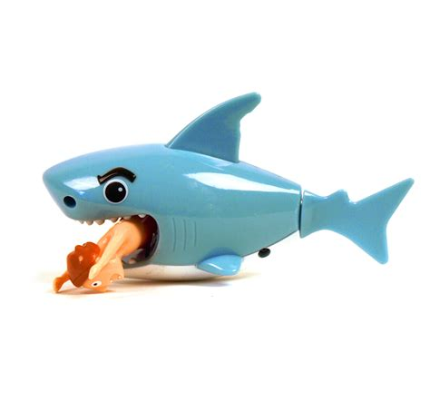 bathtub toy hungry shark wind up bath toy pink cat shop