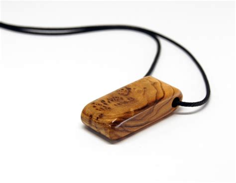 Holz Lackieren Finish by Wooden Pendant Olive Wood Oil Finish Anh 228 Nger