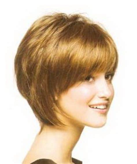 Short Layered Bob All Sides | short layered haircuts with bangs