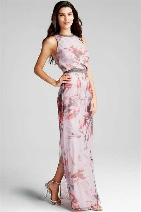 Maxy By floral maxi dress from uk