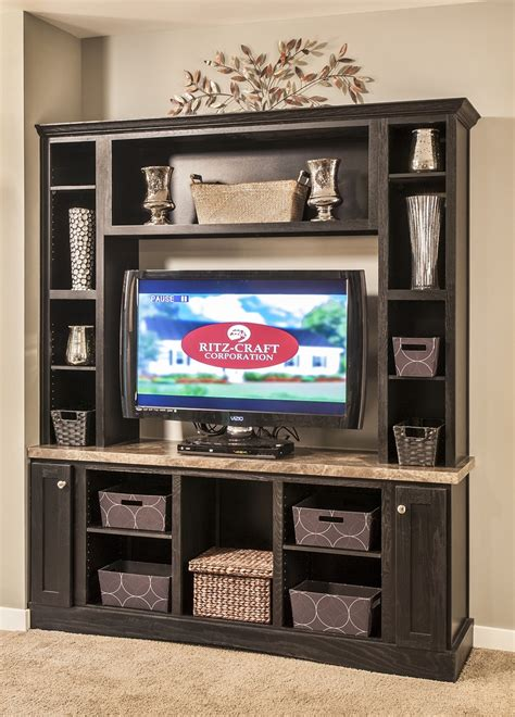 entertainment center makeover on pinterest painting oak black painted oak entertainment center the thoroughbred