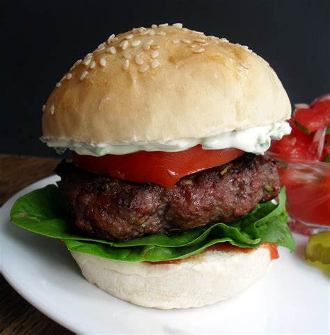 sge in a bun rosemary sage burgers with chive mayo veronica s cornucopia