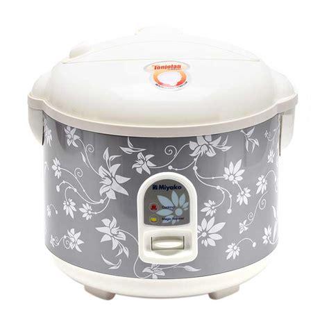 Rice Cooker Miyako 3 In 1 jual miyako mcm 528 rice cooker harga kualitas