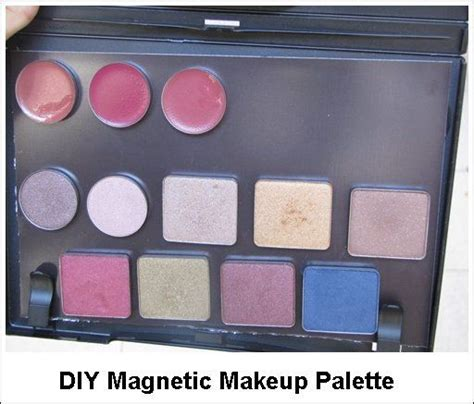 Magenetic Palette With how to make empty magnetic makeup palette diy upcycle makeup palette magnetic