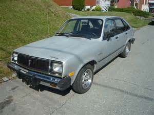 Pontiac T 1000 One Of The Worst American Cars Made 1982 Pontiac