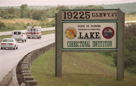 Lake County Inmate Records Inmate Dies At Lake Correctional In Clermont Orlando