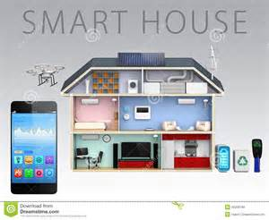 Efficiency Kitchen Design smartphone app and energy efficient house for smart house