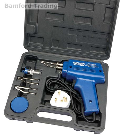Solder Set draper tools complete electric soldering iron kit set with