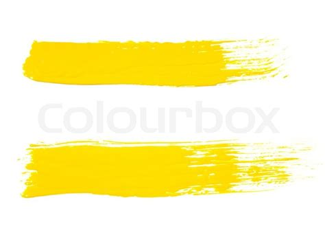 textured paint brushes paint brush texture isolated on white stock photo