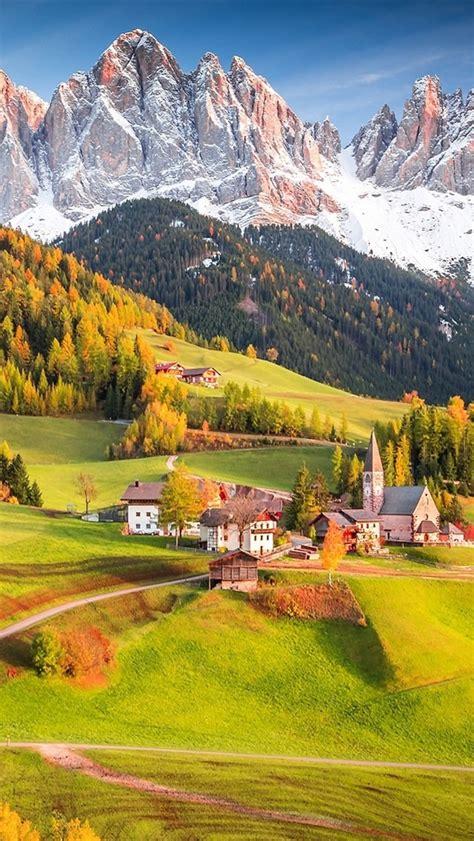 Aus Steinfurth 2430 by Fondos De Pantalla Alpes Italia Pueblo Casas 225 Rboles