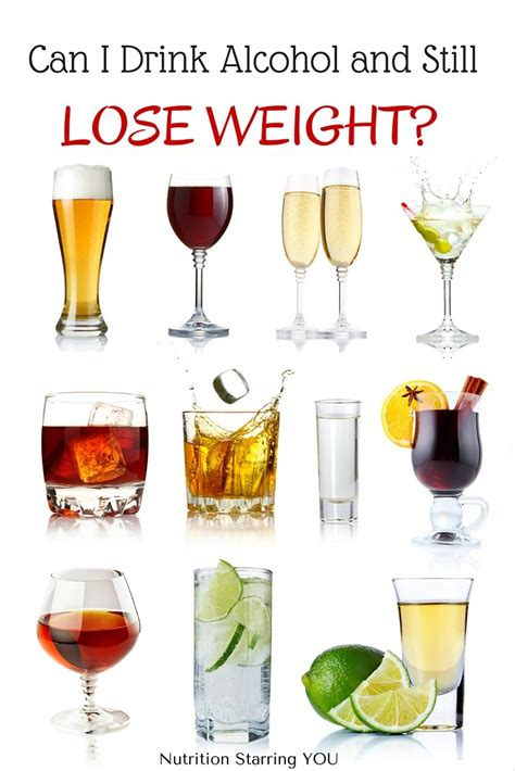 best light beer to drink on a diet can i drink alcohol and still lose weight