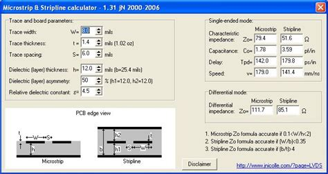 resistance measurement calculator pcb impedance calculator single ended differential pair welldone fedevel