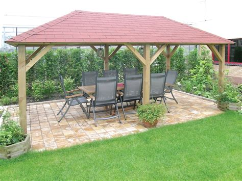 grande open wooden gazebo 2 9x4 9m 5th room gazebo