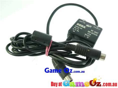 sega saturn cable sega saturn sega saturn rf unit cable
