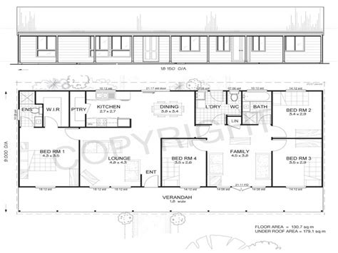 metal building homes floor plans 4 bedroom metal building